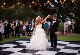 Checkered Dance floor hire - Melbourne